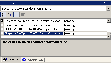 Abstraction Systems ToolTipsFactory Help File - Quick start